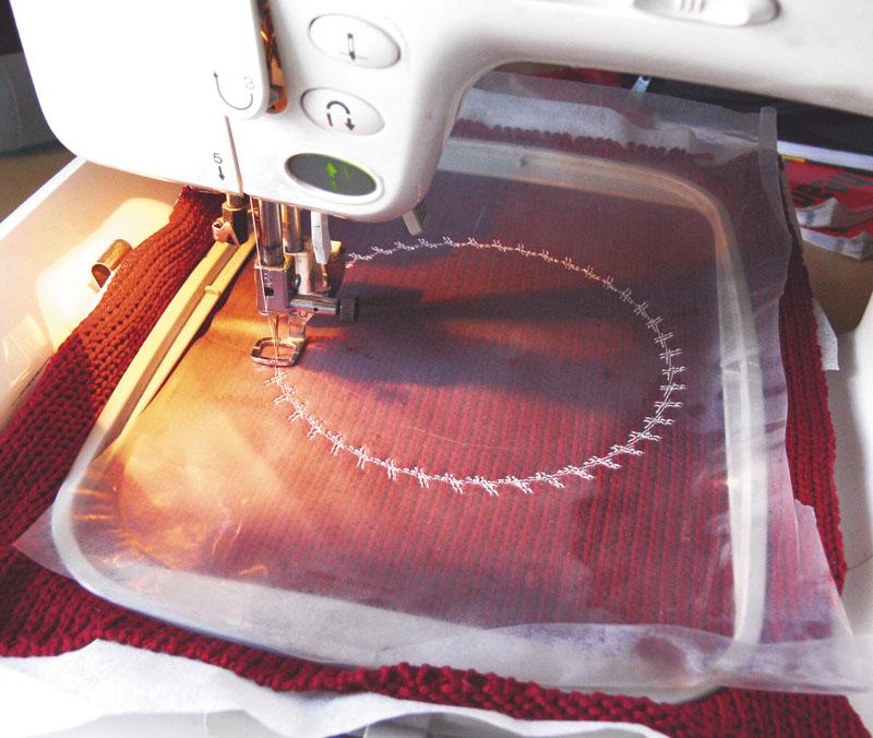 Стабилизатор для вышивки это