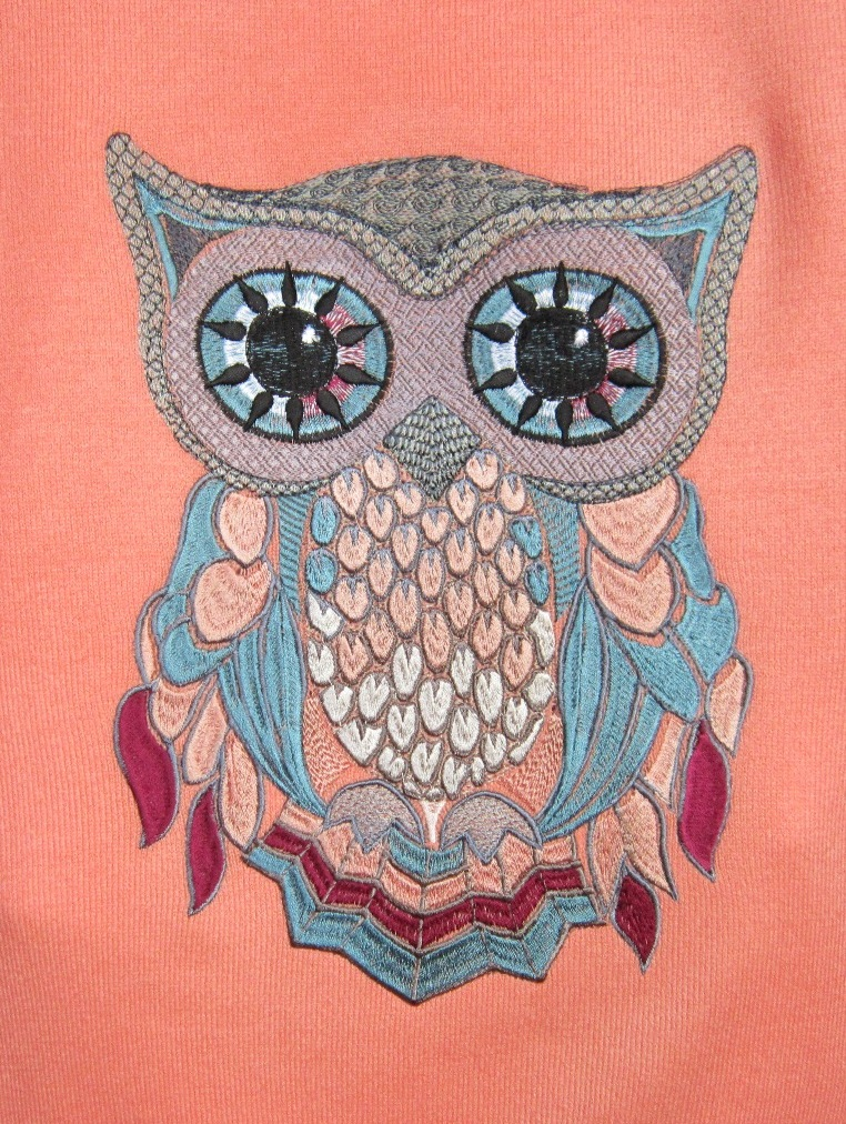 Owl free embroidery 2
