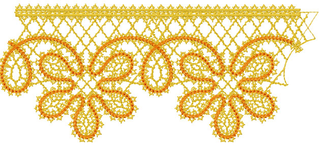 Decoration free embroidery design 22