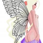 Cutest fairy free embroidery design