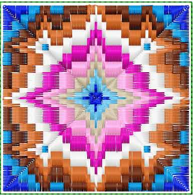 Ethnic free embroidery free embroidery design 4