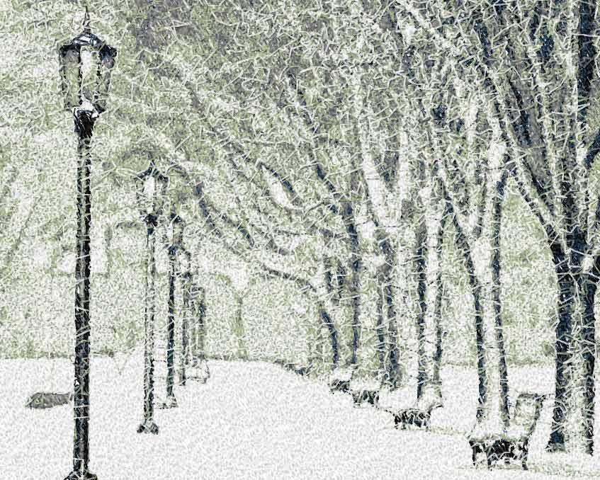 Winter park photo stitch free embroidery design