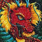 Dragon photo stitch free embroidery design