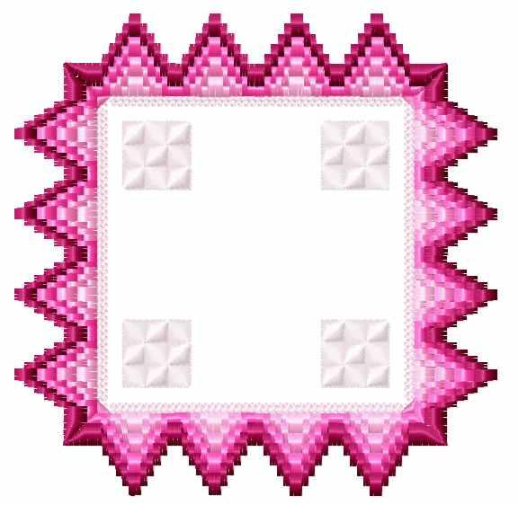 Bargello florentine square free embroidery design