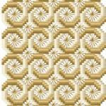 Bargello florentine free embroidery design
