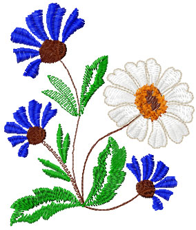 Basil free embroidery design 10