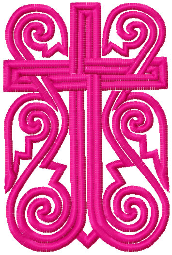 Bookmark the Bible free embroidery design