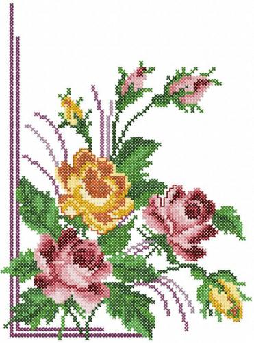 Free Embroidery Flower Designs Free Hand Embroidery Flowers