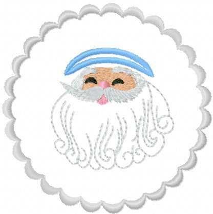 Santa Claus free embroidery design 10