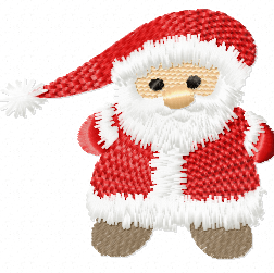 Little Santa free embroidery design