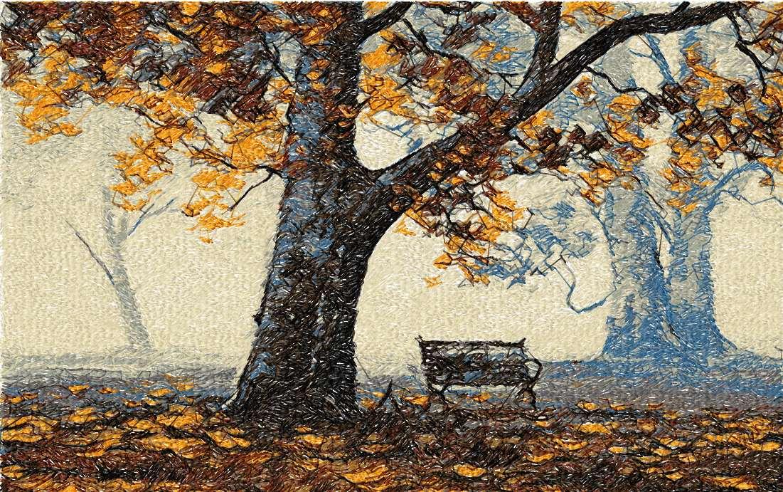 Autumn photo stitch free embroidery design - Free embroidery ...