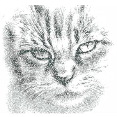Drawing Cat Face Free Embroidery Design Free Embroidery Designs