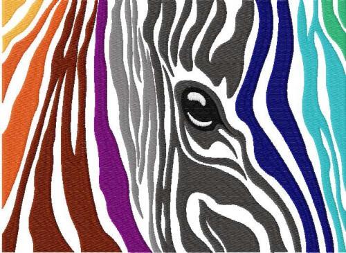 Animals free machine embroidery design