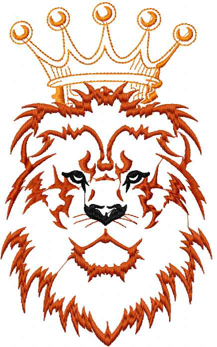 lion king free embroidery design cartoon machine embroidery