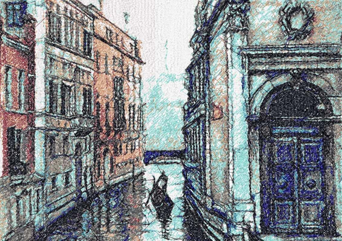 Venezia photo stitch free embroidery design