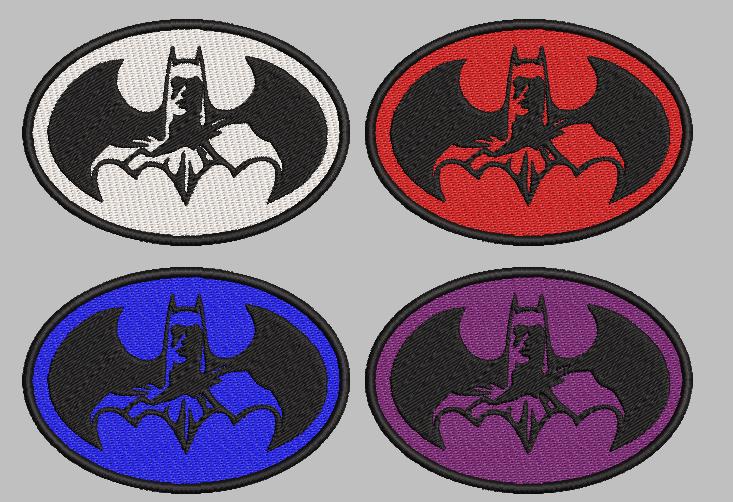 Batman Dark free embroidery design