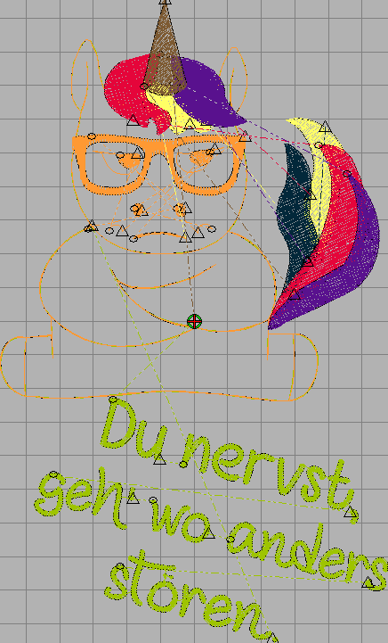 Unicorn DU NERVST free embroidery design