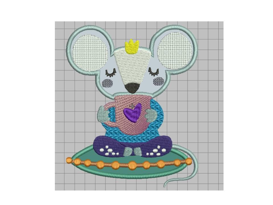 For cushion free embroidery design