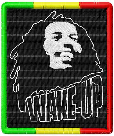 Bob Marley free embroidery design