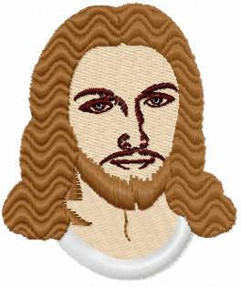 Jesus Christ free embroidery design