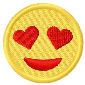 Loving smile free embroidery design