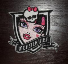 Monster High embroidery badge