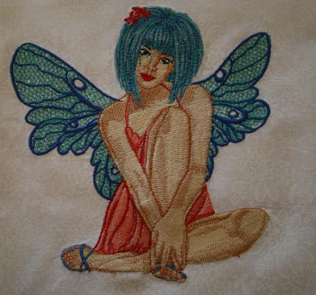 Pretty Fairy embroidery design