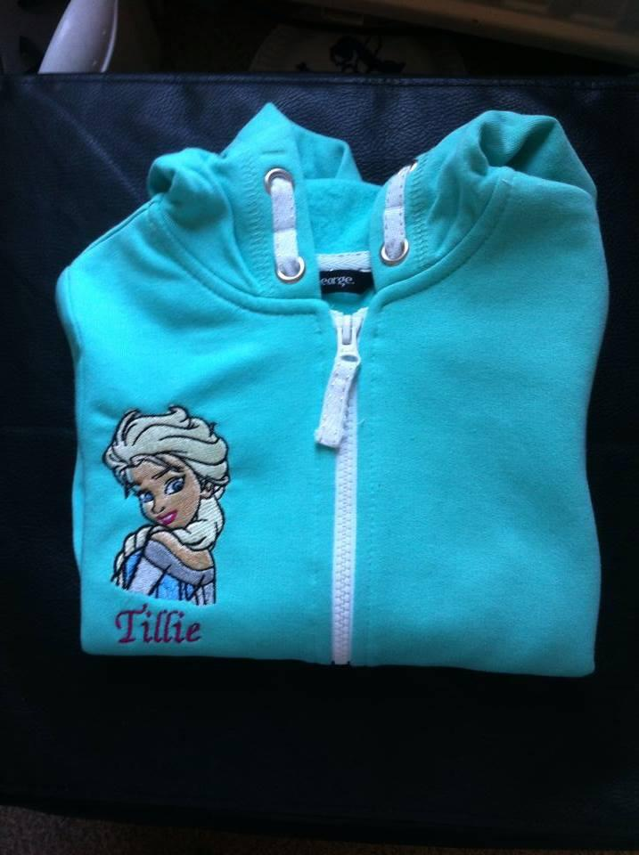Elsa frozen embroidered at jacket
