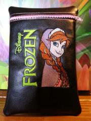 Embroidered item with Frozen design
