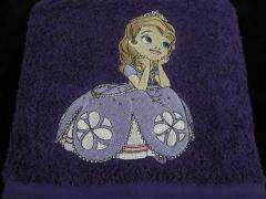 Sofia the first machine ebroidery design