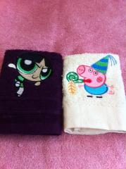 Peppa Pig Carnival embroidered towels