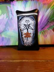 Jack Scellington embroidered case for mobile
