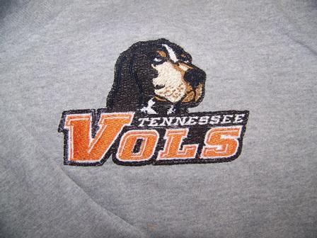 Tennessee Volunteers Alternate Logo machine embroidery design