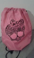 Monster High School embroidered bag