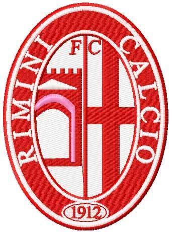 A.C. Rimini 1912 football club logo embroidery design