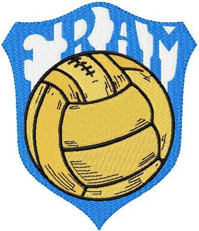 Fram football club embroidery design