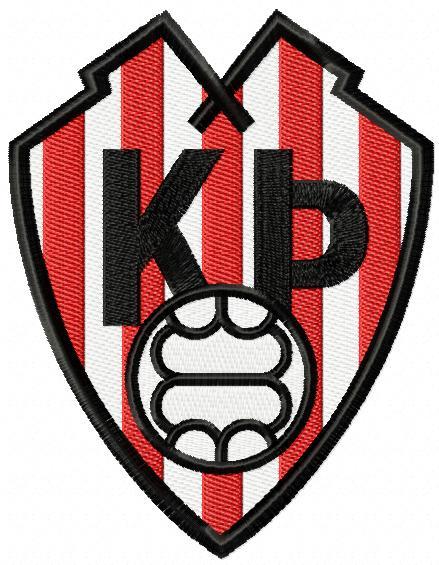Prottur Football Club Logo machine embroidery design