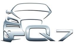Audi Q7 art for embroidery digiizing