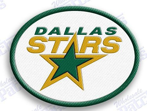 Dallas stars oval logo for embroidery digitizing
