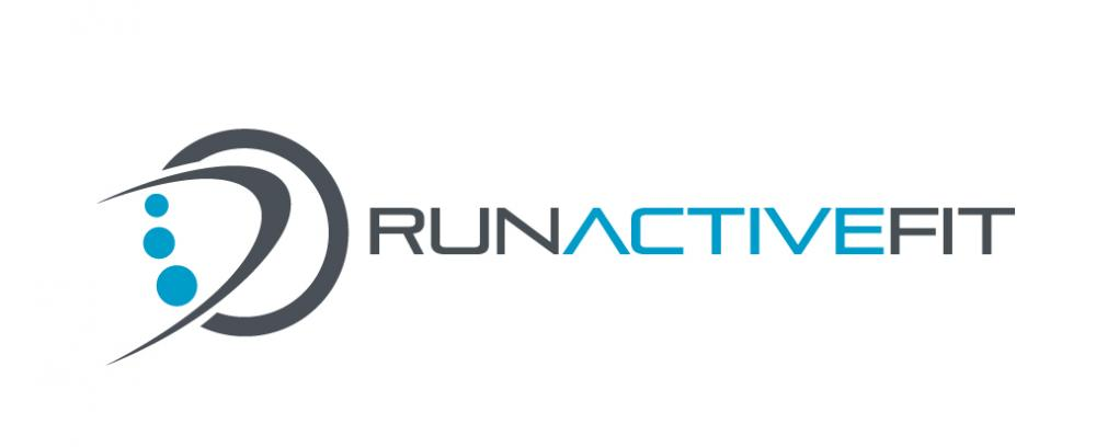 Run active fit logo embroidery design