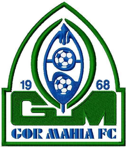 GOR MAHIA FC logo embroidery design