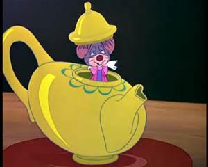 Wonderland DoreMouse design in pot
