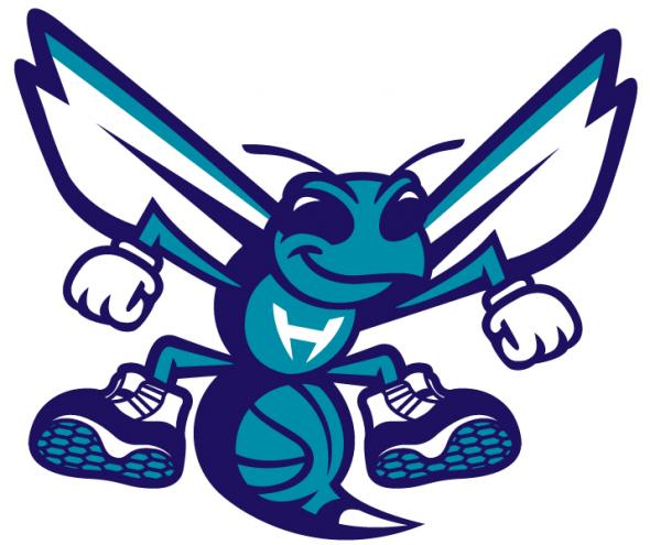 Charlotte Hornets logo embroidery design