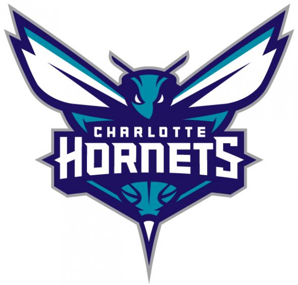Charlotte Hornets logo machine embroidery design