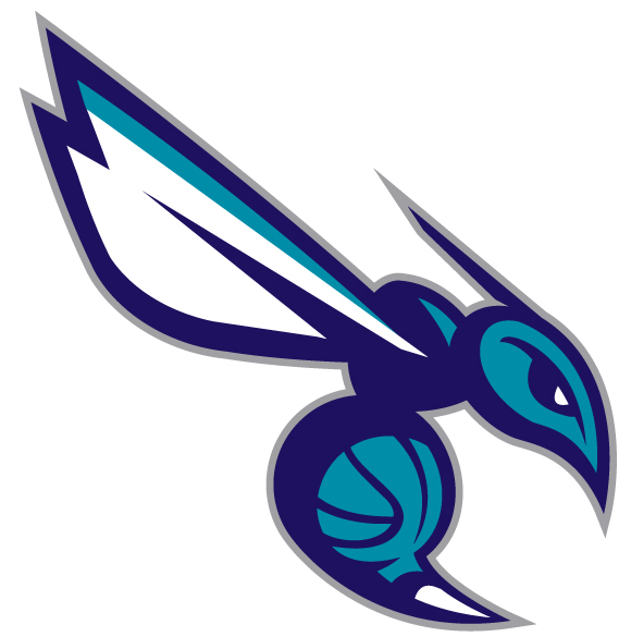 Charlotte Hornets alternative logo machine embroidery design