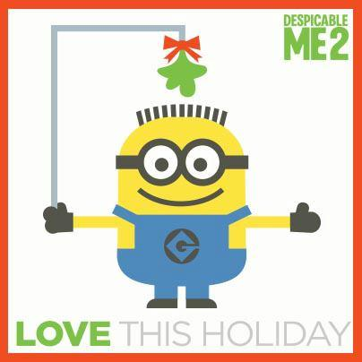 Love this holiday minion