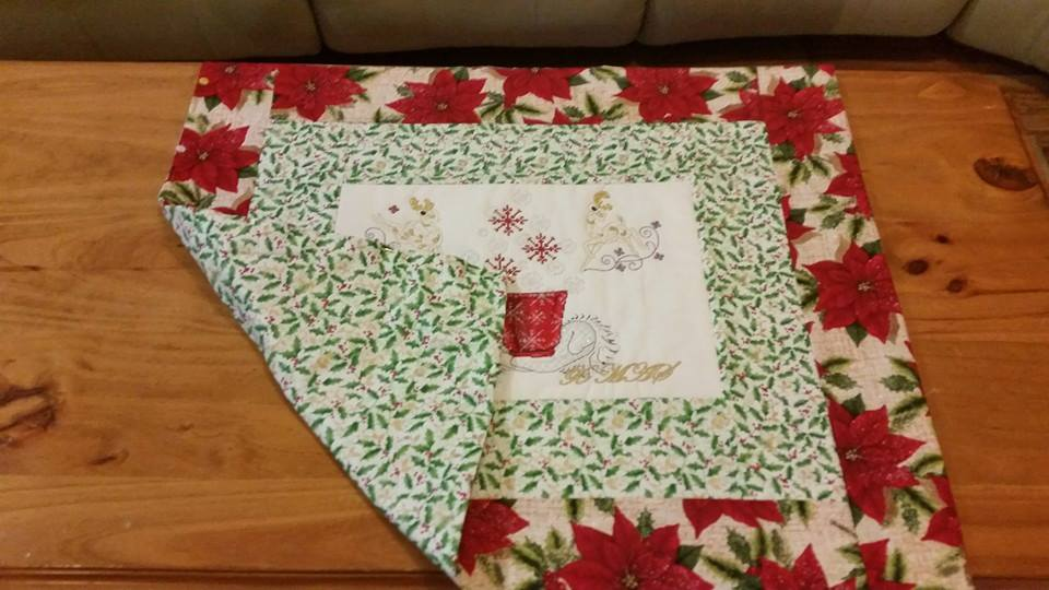 Christmas cross stitch free embroidery