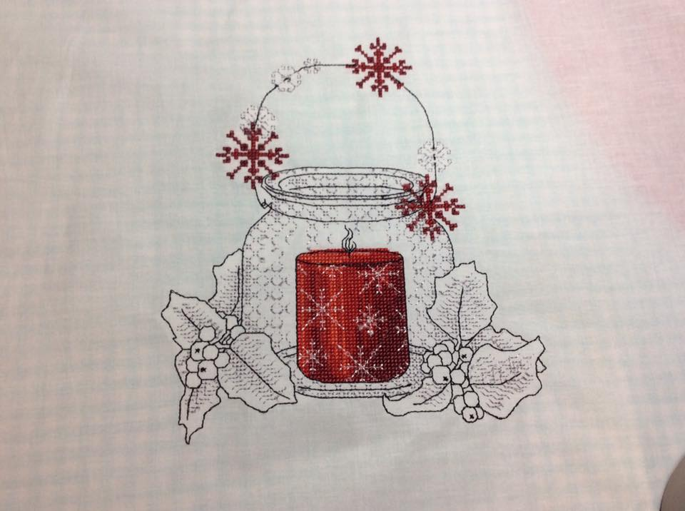 Cross stitch free embroidery