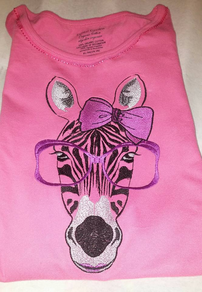 Zebra Free Embroidery Design Animals Machine Embroidery Community