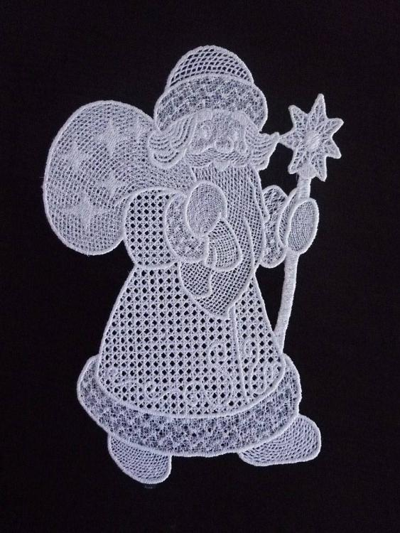 Santa free embroidery